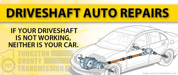 Drivetrain & Driveshaft Repairs