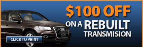 Auto Repair & Transmission Service Coupons